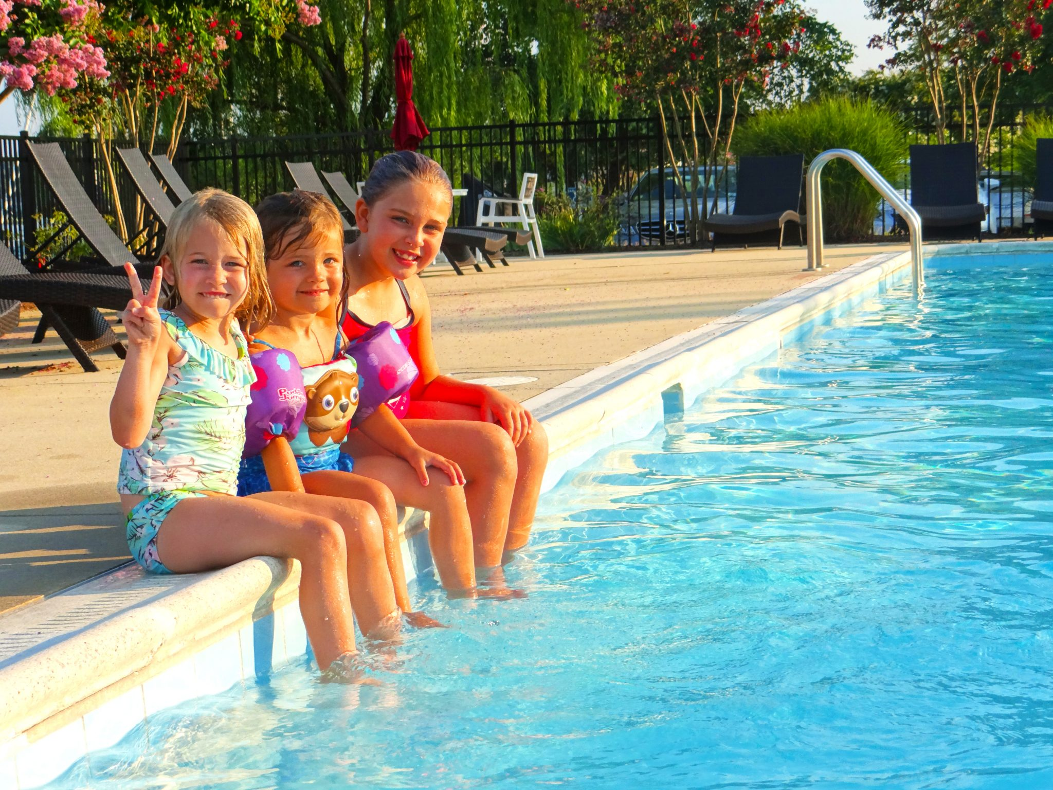Shipwright Harbor Marina amenities include a private, saltwater pool